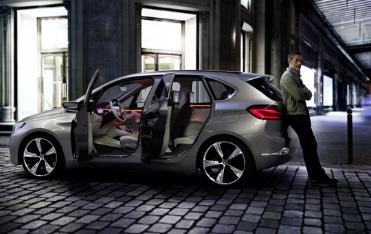 Concept Active Tourer - първият хибриден ван на BMW