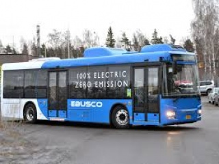 First 100% electric buses of EBUSCO go for public transport drive in Stavanger, Norway