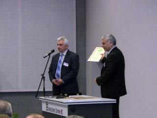 Тази година ИКЕМ връчи наградите си за принос в електрическата мобилност за 2012г.
