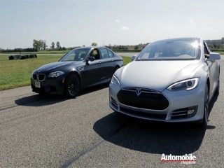 BMW M5 VS Tesla Model S